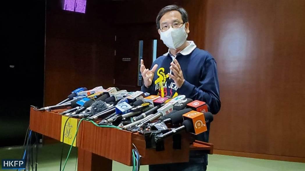 Lawmaker Ip Kin-yuen