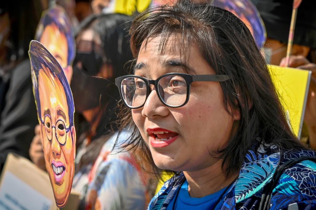 THAILAND-POLITICS-ROYALS-SOCIAL-DEMONSTRATION