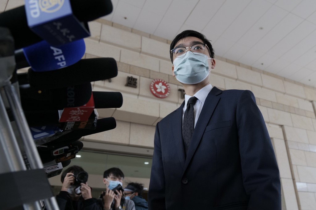 Andy chan acquitted of assault of police