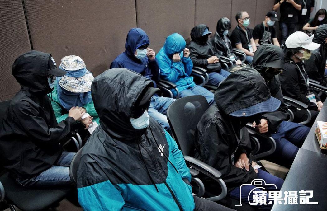 Twelve detainees