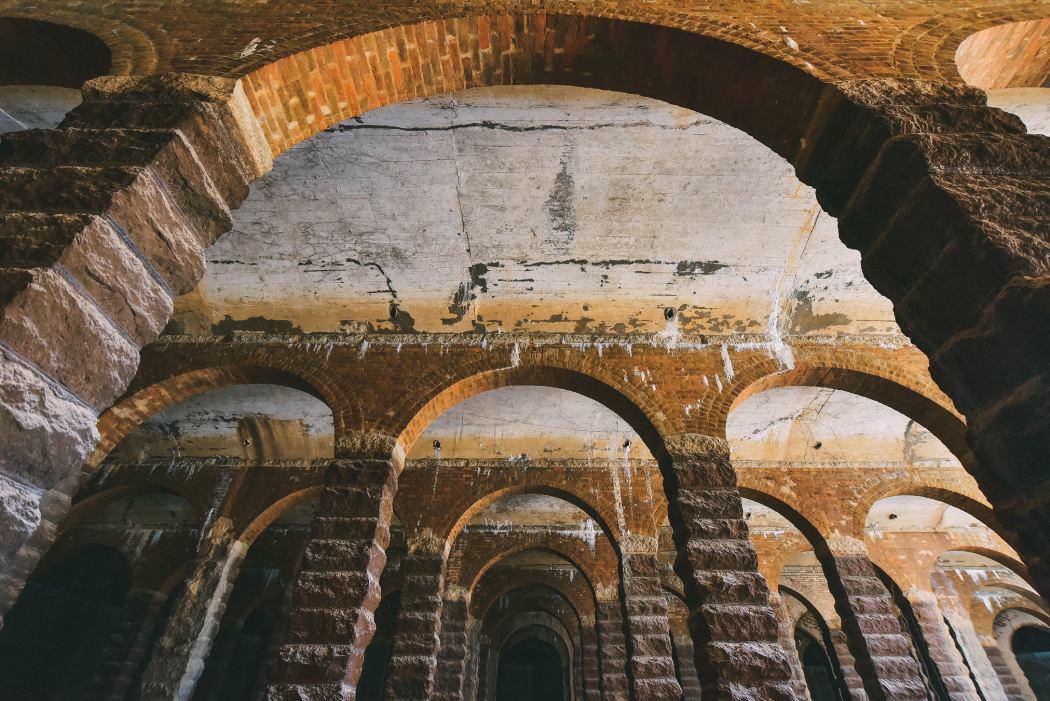 Bishop Hill reservoir aqueducts