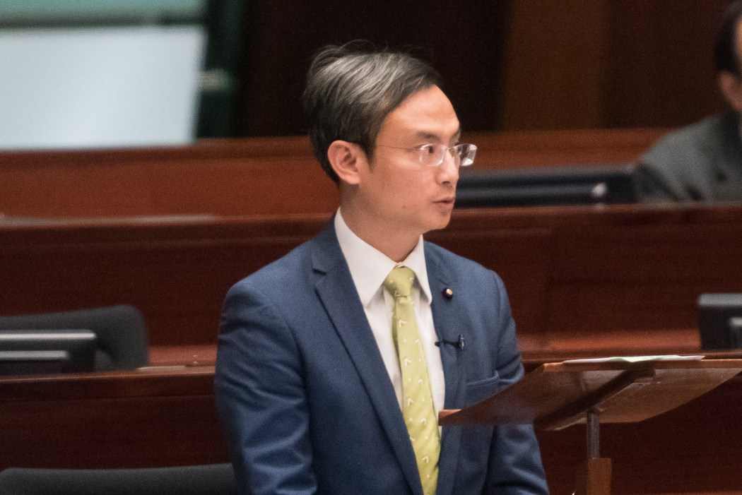 legco medical sector pierre chan pui-yin