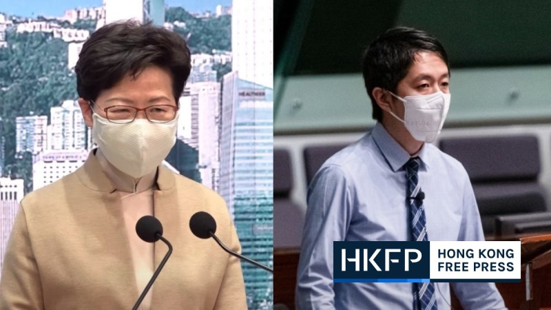 Carrie Lam Ted Hui