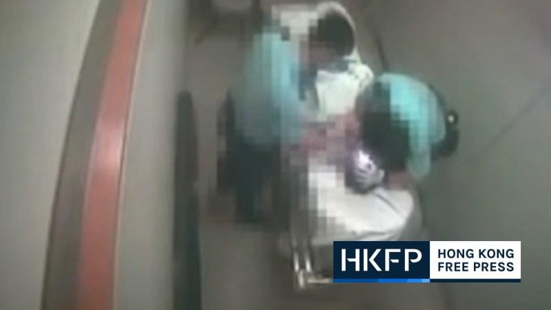 police hospital assault