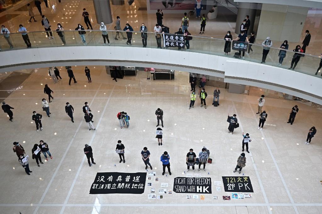 HONG KONG-PROTEST-HEALTH-VIRUS