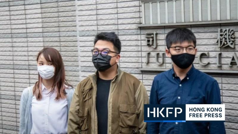 Joshua Wong, Agnes Chow, Ivan Lam