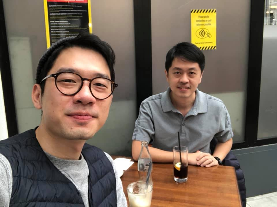 Nathan Law and Ted Hui