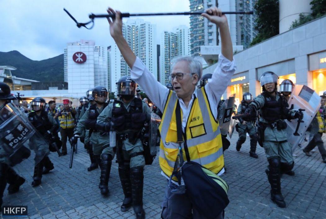 """Safeguard Our Generation"" volunteer Grandpa Wong"