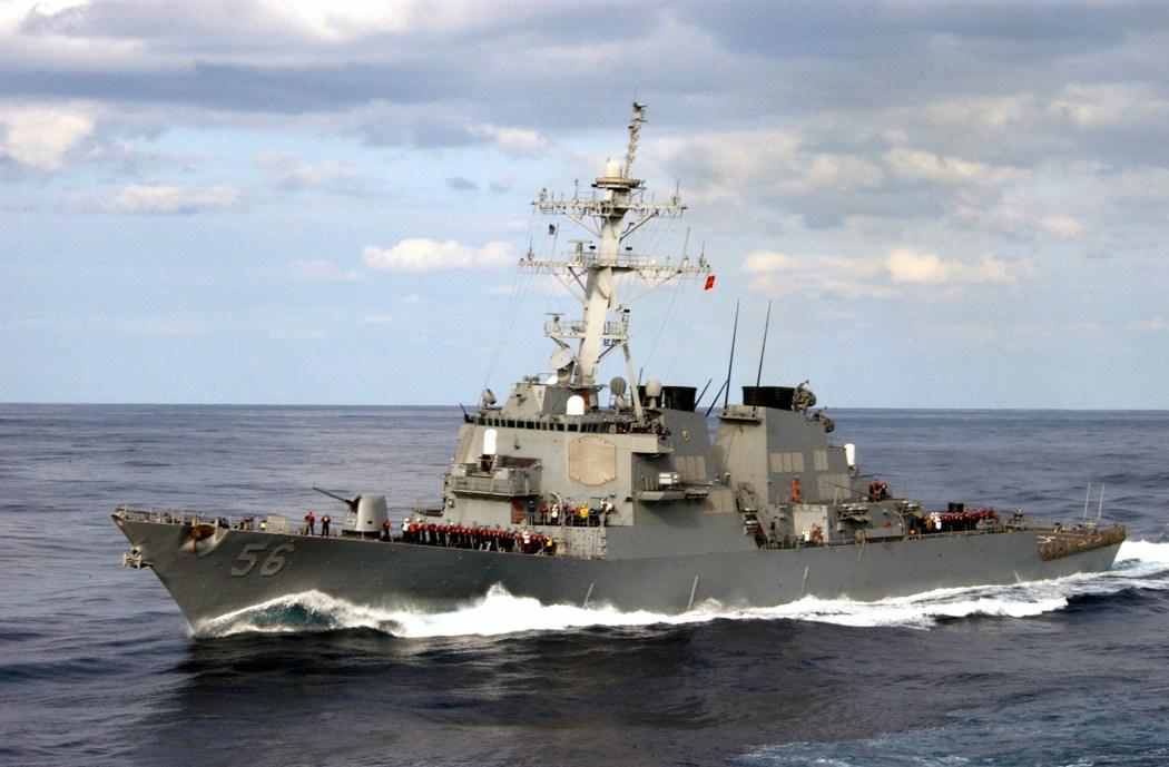 USS John McCain USA Warship