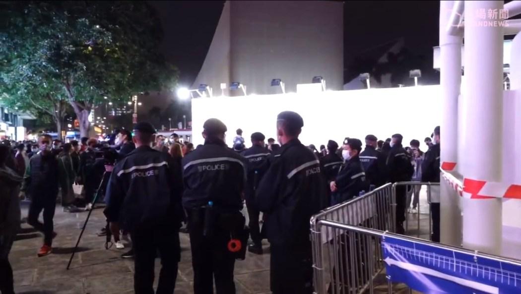 Tsim Sha Tsui Christmas Eve protest 2020