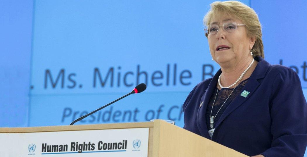 Michelle Bachelet UN Human Rights Council President