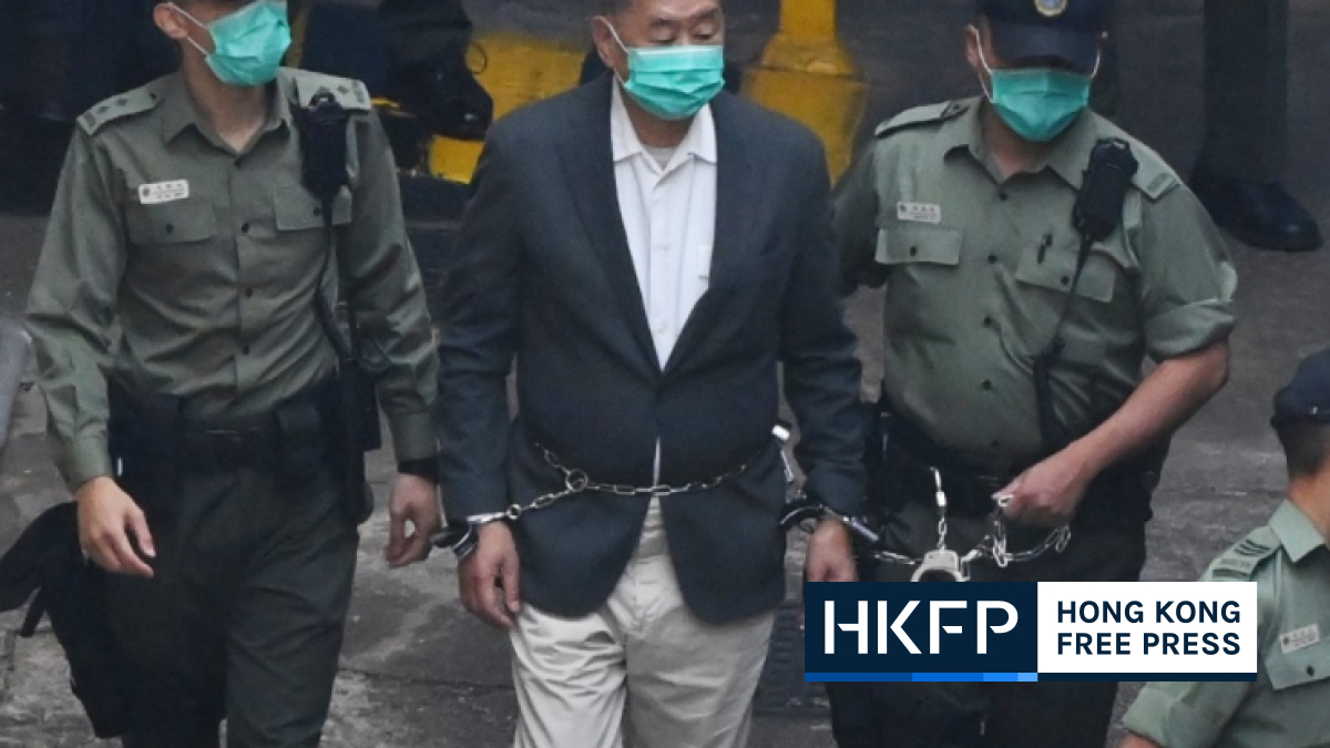 jimmy lai in chains