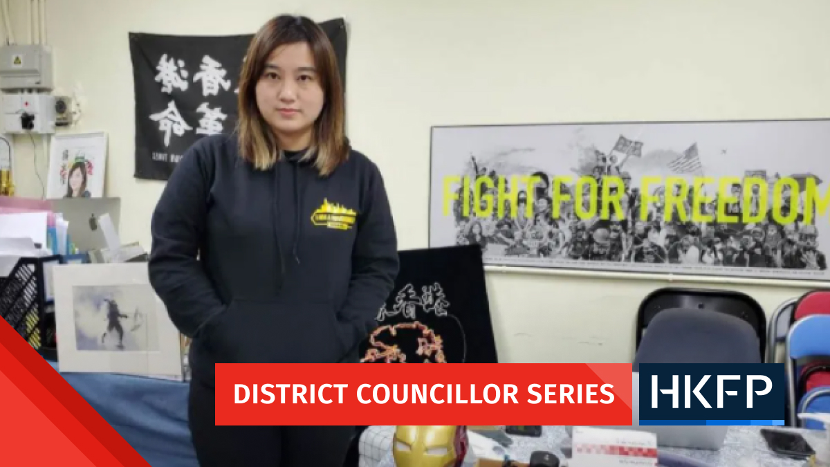 Hong Kong District Councillor series: Leticia Wong says she will do the most she can amid fears of ousting and arrests targeting democrats | Hong Kong Free Press HKFP