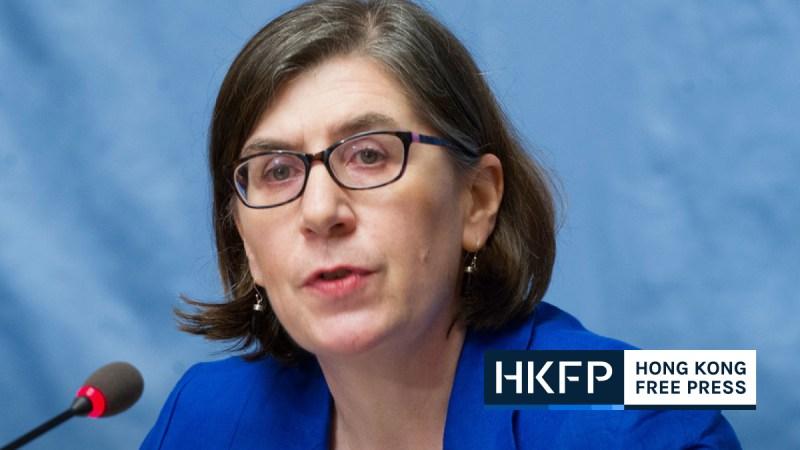 Elizabeth Throssell, Spokesperson OHCHR feature img.