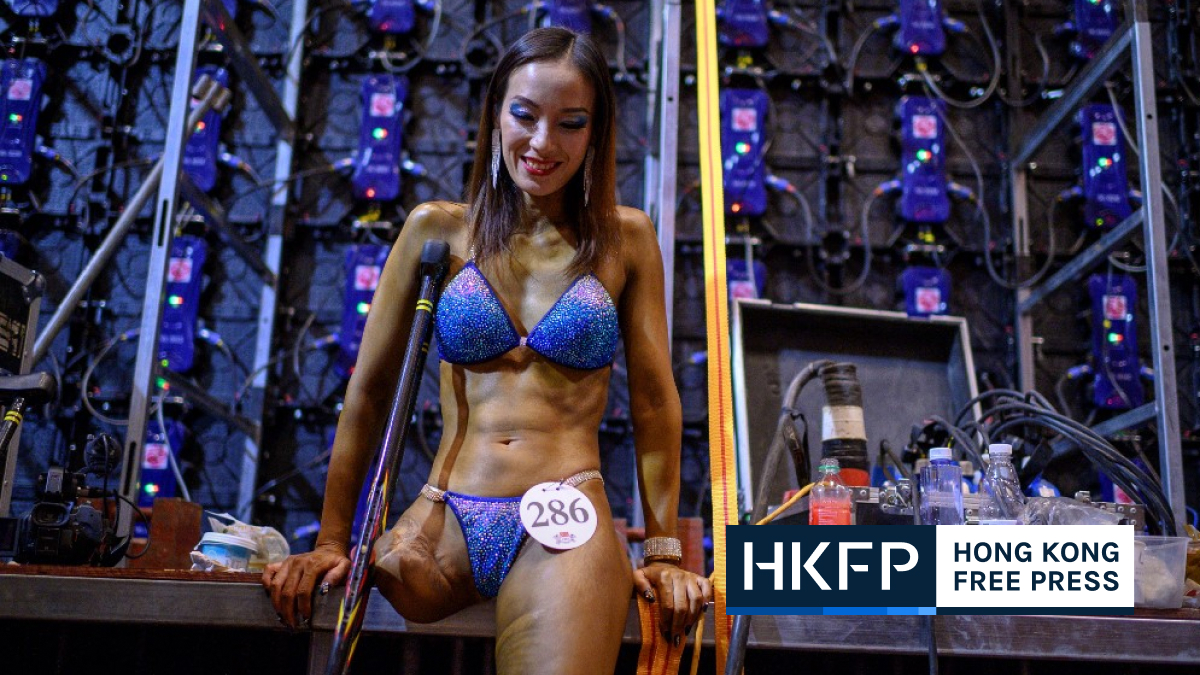 Disabled bodybuilder