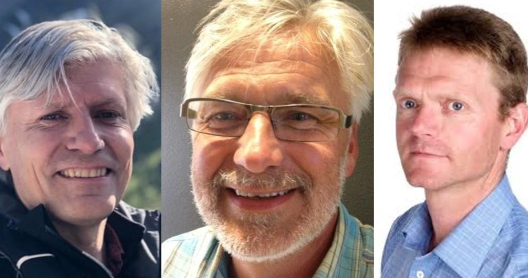 Ola Elvestuen, Jon Gunnes and Terje Breivik