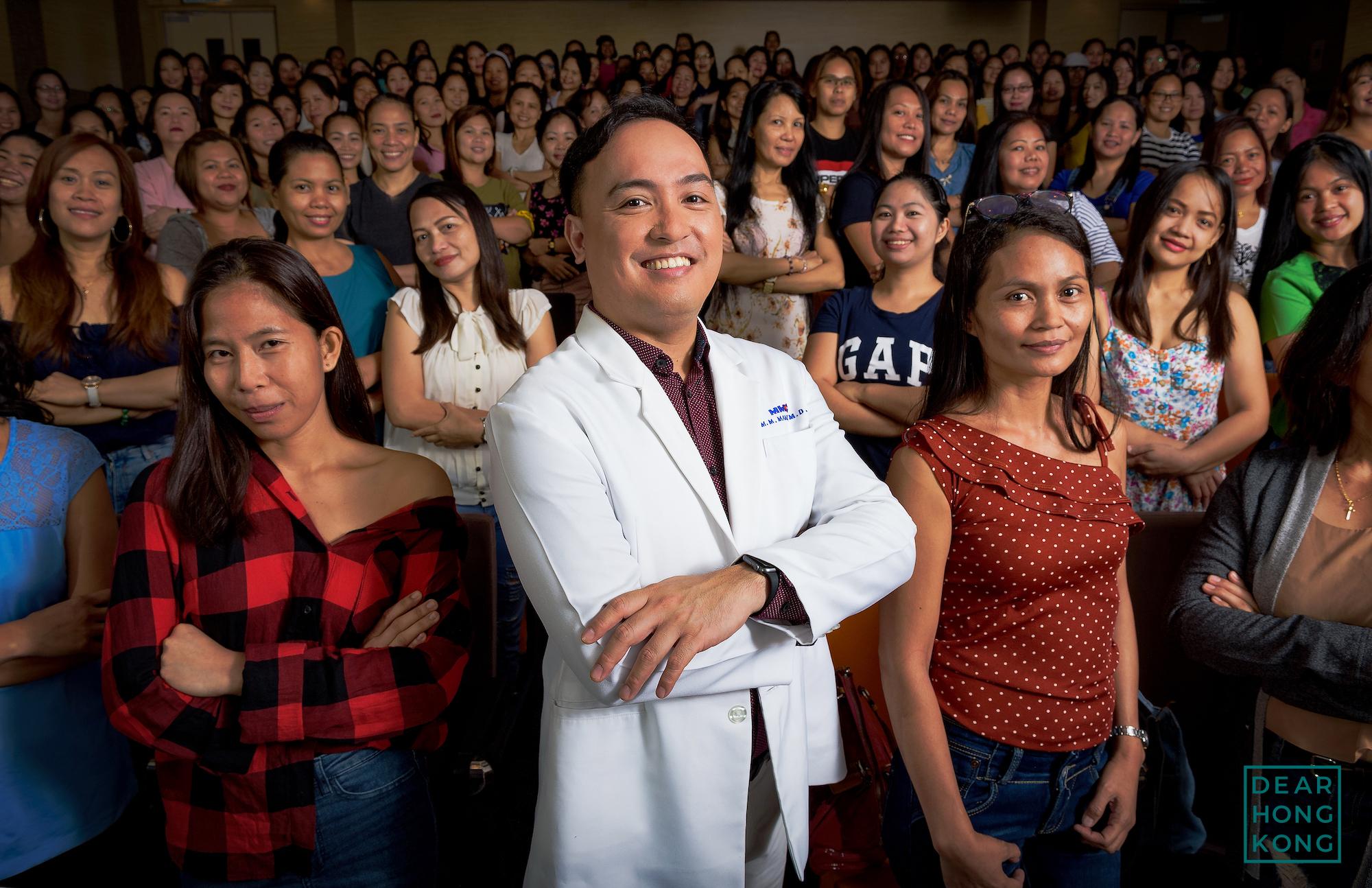 Philippines - Dr. Mike Manio by Bradley Aaron @bradley_aaron_portraits