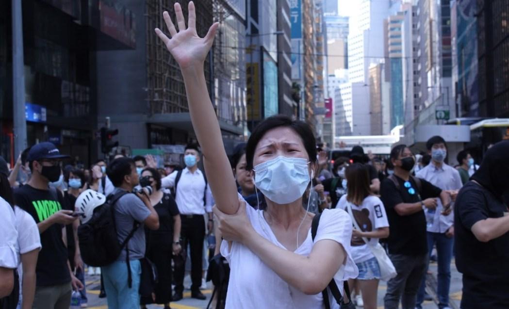 protest five demands 2019