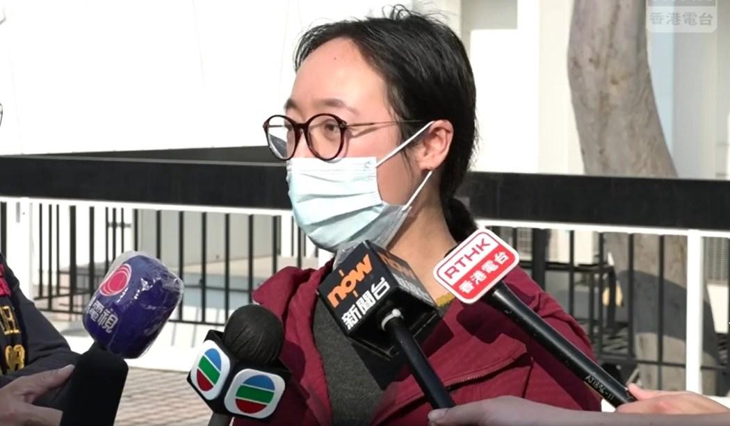 gladys chiu RTHK union representative.