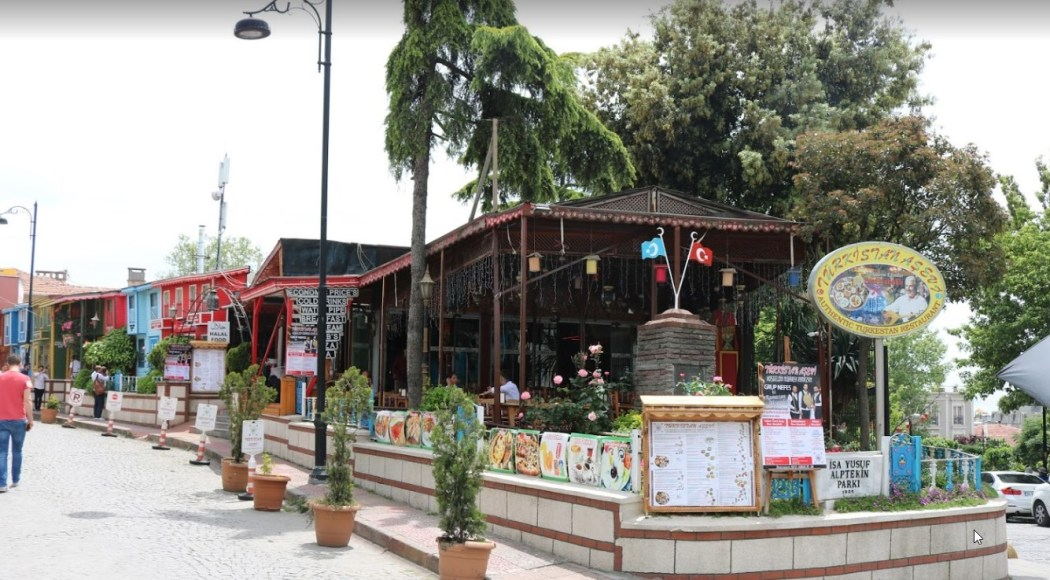 Isa Yusuf Alptekin Park Turkey Uighur