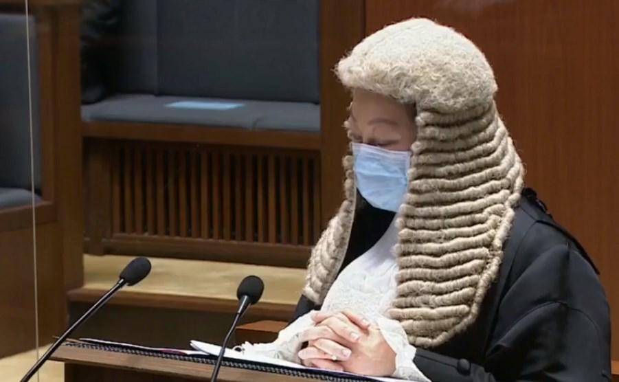 Secretary Teresa Cheng 2021 legal year