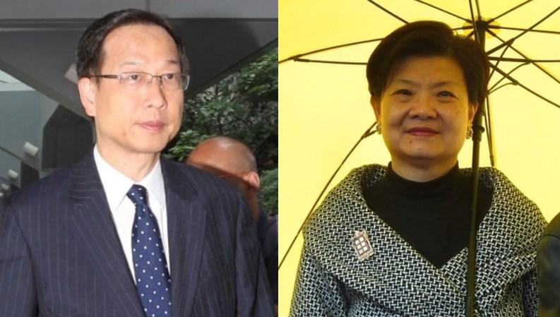 Benjamin Yu and Audrey Eu