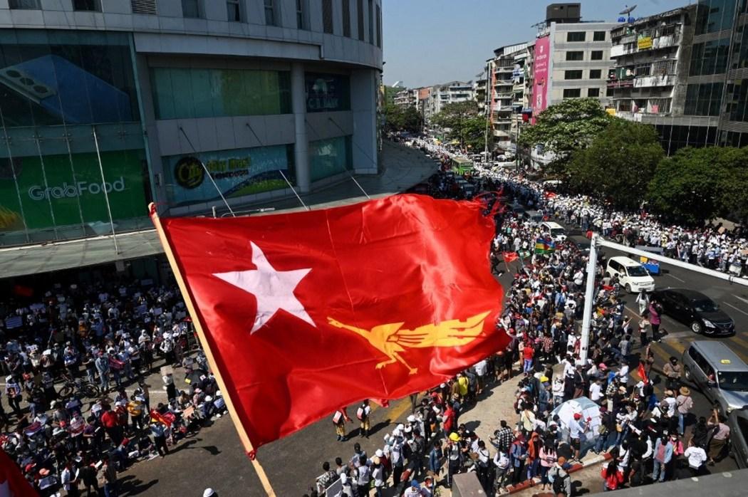 Protes kudeta Myanmar
