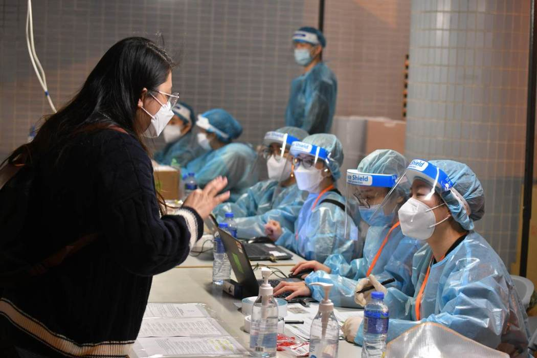 Penguncian virus Coronavirus covid-19 Tin Shui Wai