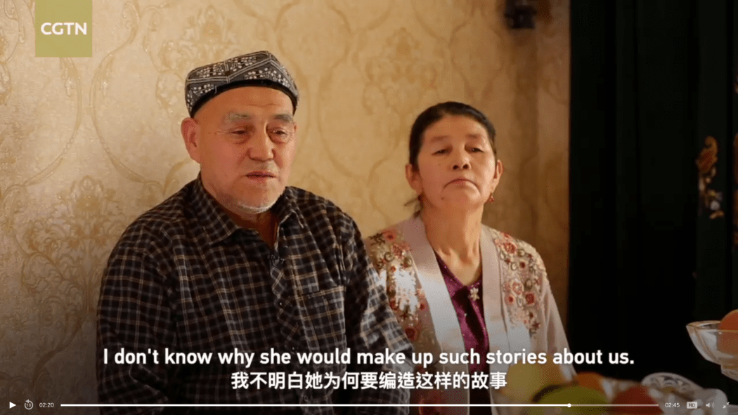 Uighur video