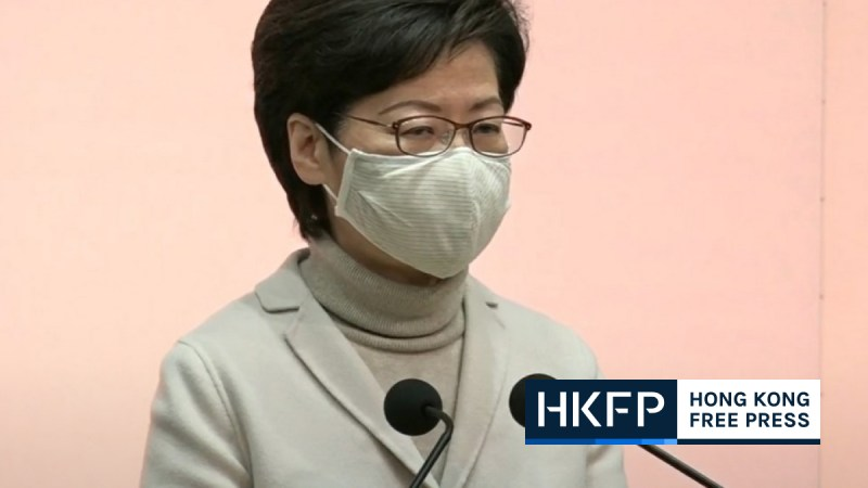 carrie lam electoral reform