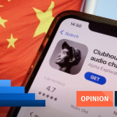 Opinion Hilary Yip Clubhouse China