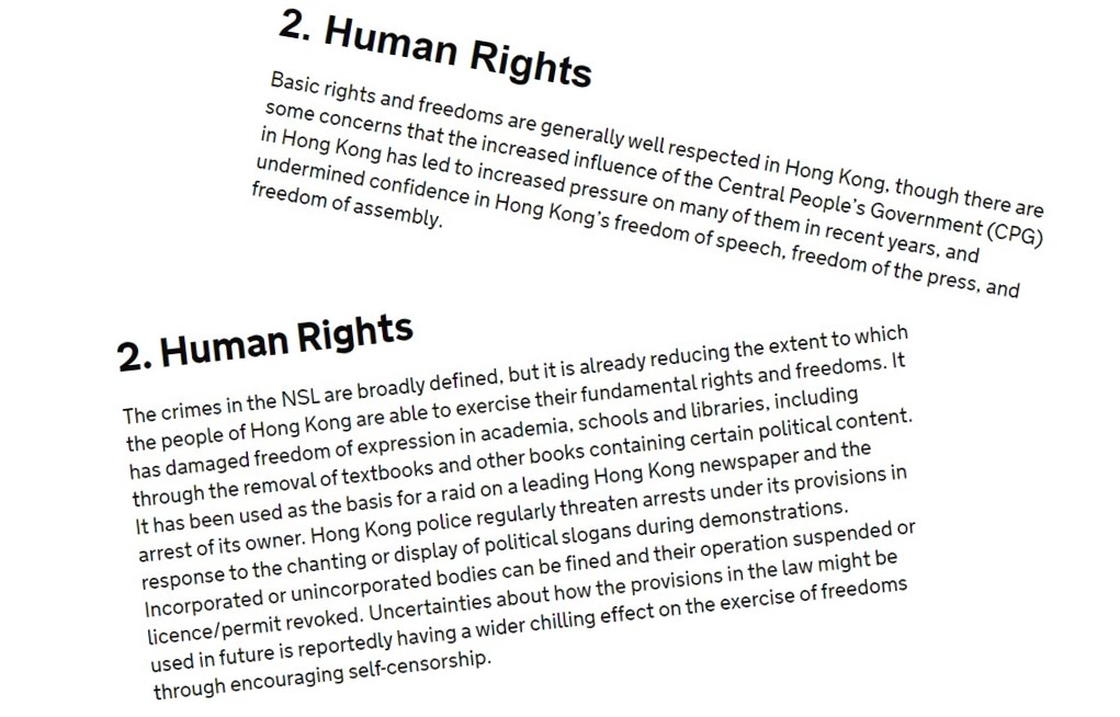 business risk human rights