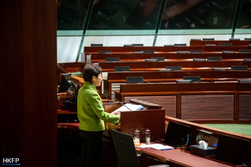 Carrie Lam Legislative Council Q&A