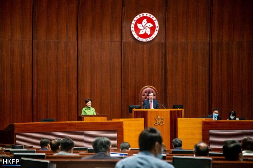 Carrie Lam Legislative Council Q&A