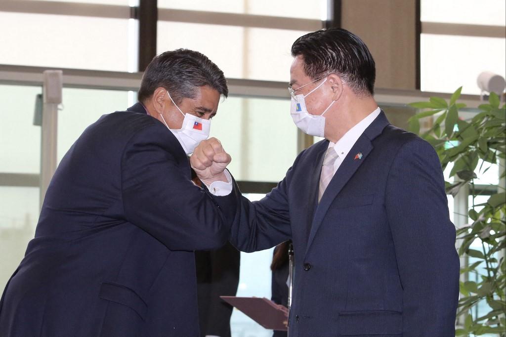 TAIWAN-PALAU-DIPLOMACY-HEALTH-VIRUS-TRAVEL
