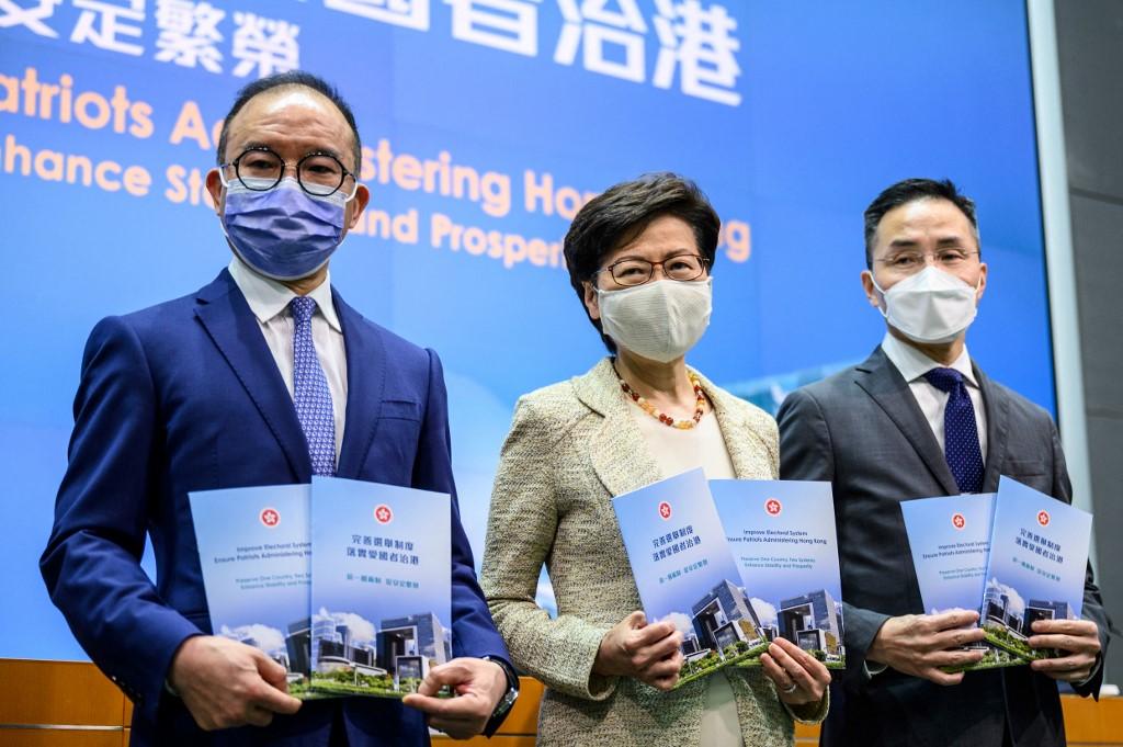 hong kong officials