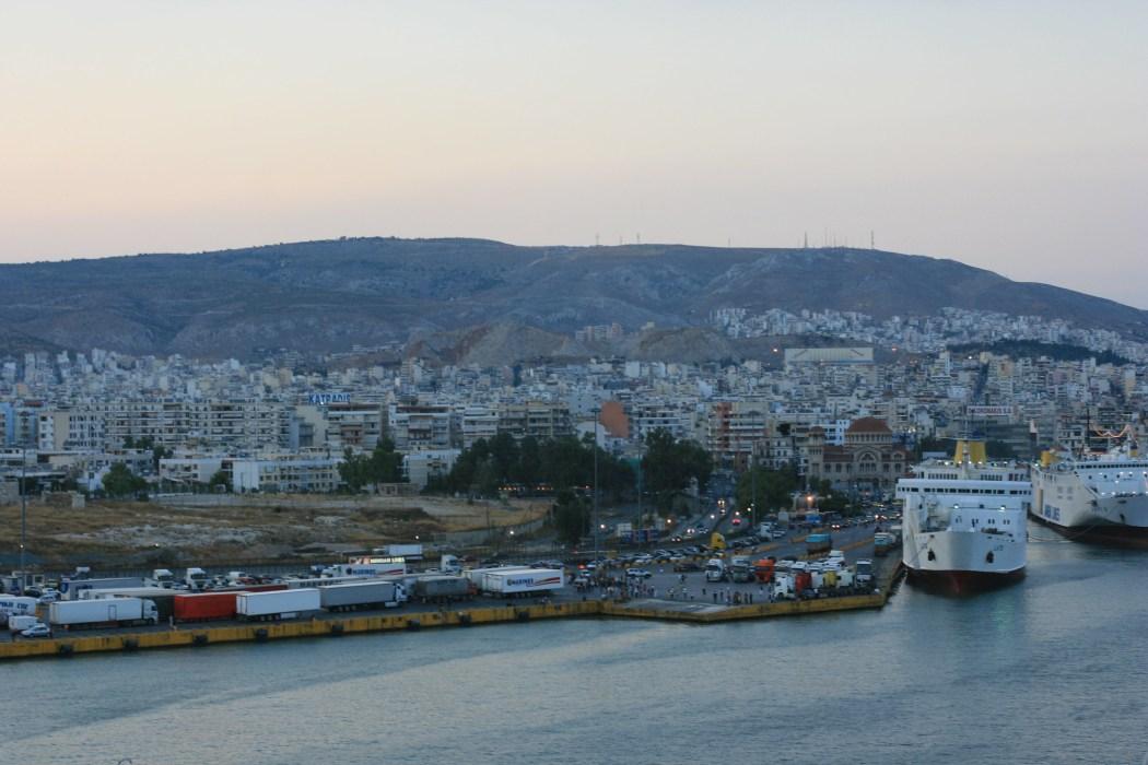 Port of Piraeus Athens Greece