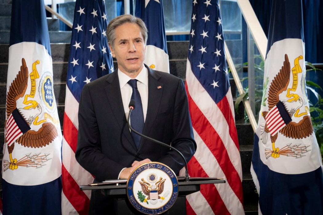 US Secretary of State Antony Blinken.