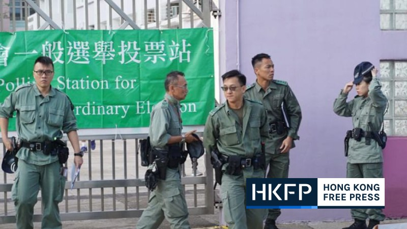 police will now vet hong kong election candidates
