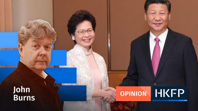 Article - Opinion - John Burns Hong Kong China op ed