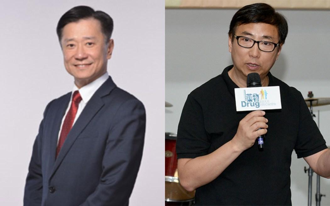 Yiu Si-wing (L) Tik Chi-yuen (R)