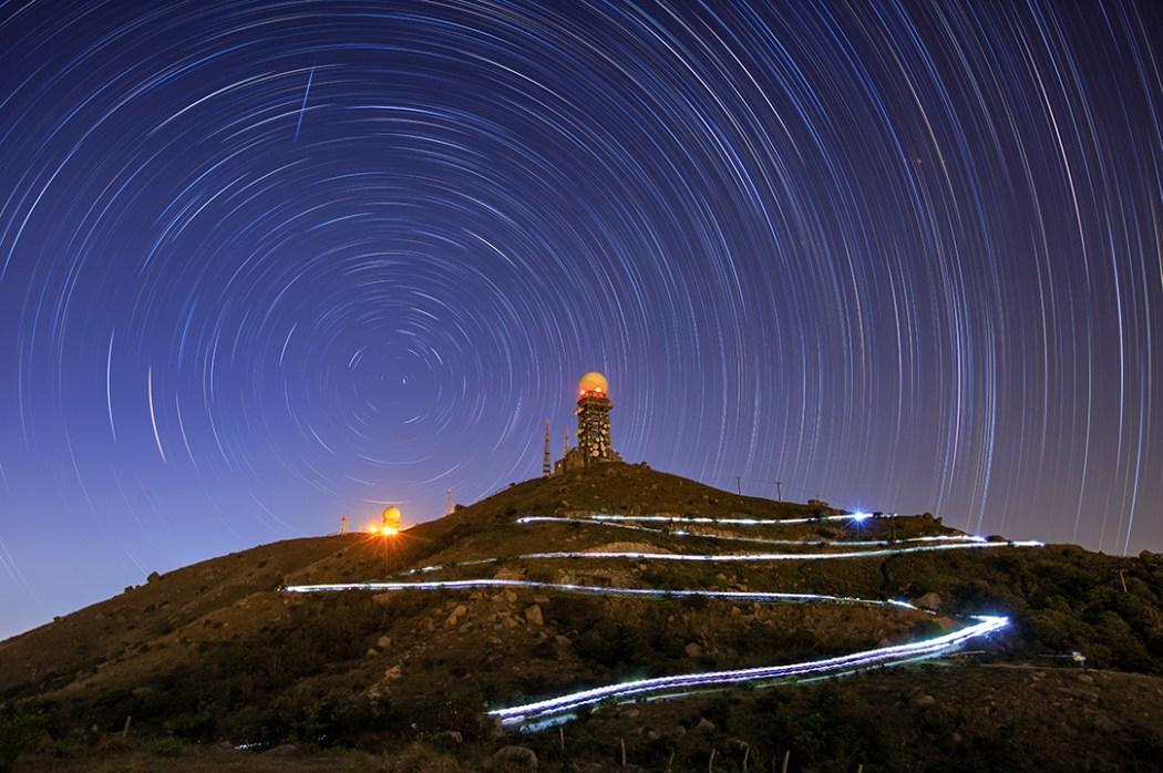 Hong Kong stars night