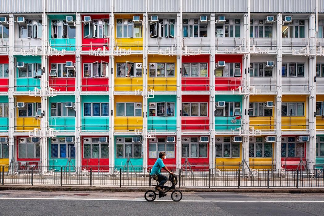 Hong Kong building colour