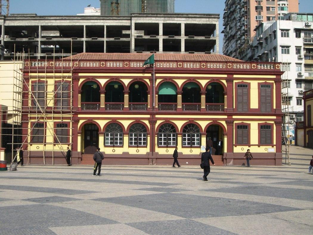Macau's Tap Seac Square.