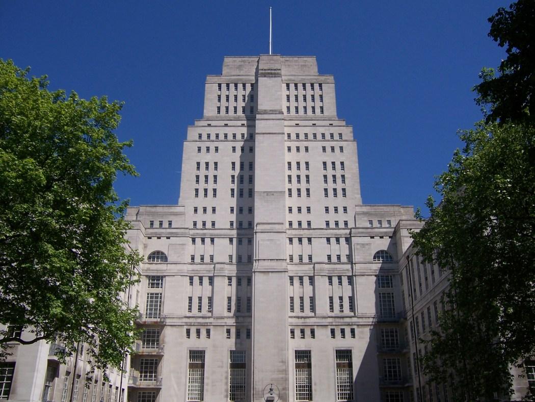 senate house in london.