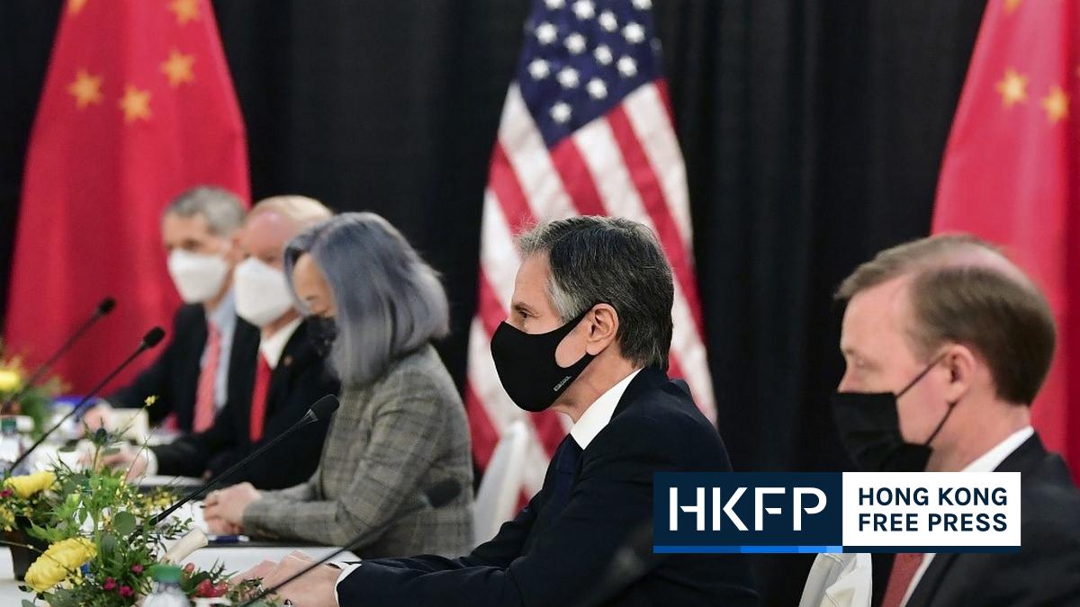 US China talk