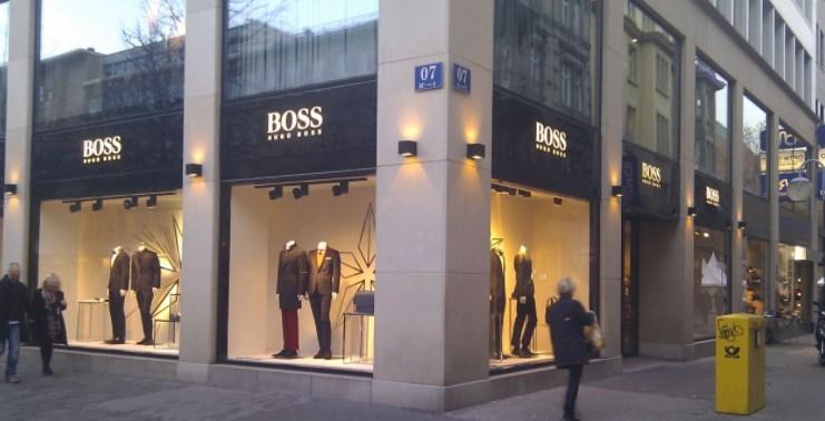 Hugo Boss.