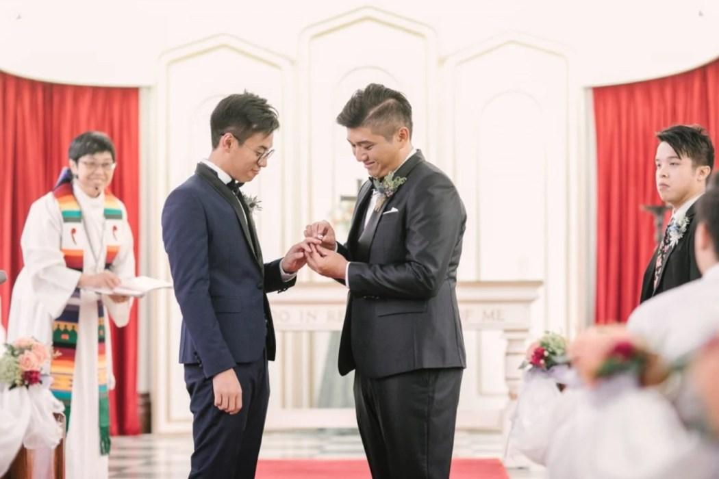 Henry Li and Edgar Ng gay couple gay marriage LGBT.