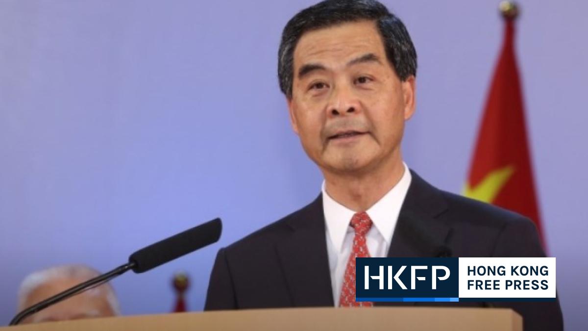 Hong Kong democrats who urge sanctions are 'separatists', says CY Leung; does not rule out running for Chief Exec. again | Hong Kong Free Press HKFP