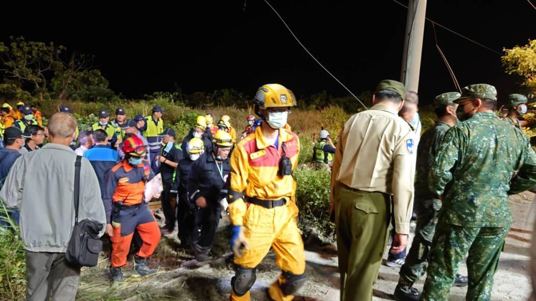 taiwan train crash